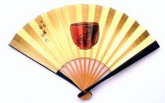 Hand Fan Vintage Japanese Sensu Ogi Tea Bowl by VintageFromJapan, $9.50