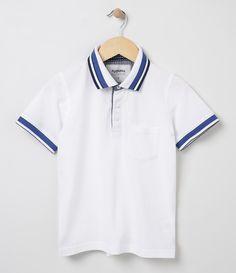 1e2c05a612 Camiseta infantil Manga curta Polo Marca  Fuzarka Tecido  piquet  Composição  100% algodão