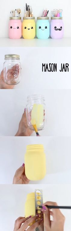 26 ideas muy sencillas para hacer manualidades kawaii para decorar - E-Manualidades
