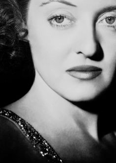 Bette Davis - Her name will never be below the title.