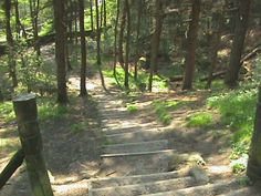 Steps To Dovestones Reservoir Saddleworth UK 1999
