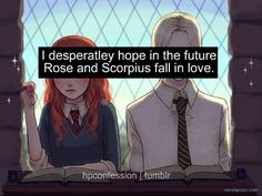 So, last night I was reading James Potter and the Vault of Destinies (it's really good and kind of creepy) and one of James's friends, Zane, asked Rose and Scorpius if they were dating AND I SCREAMED SO LOUD OMG SCOROSE HAS A CHANCE IN THOSE