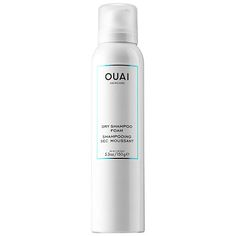 Dry Shampoo Foam - Ouai | Sephora $28 Not to just get through the day but gives another whole day or 2.