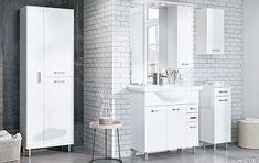Badezimmerserie Amigo - Leiner Double Vanity, Chrome, Bathing, Double Sink Vanity