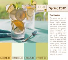 YOLO Colorhouse Spring 2012 Palette