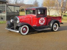 Vintage Trucks Classic 1930 Ford Model A Texico Pickup Vintage Pickup Trucks, Old Ford Trucks, Antique Trucks, Classic Chevy Trucks, Antique Cars, Vintage Cars, Classic Cars, Hot Rod Trucks, Cool Trucks