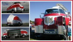 1940 General Motors Futurliner | Each Futurliner displayed modern advances in science and technology ...