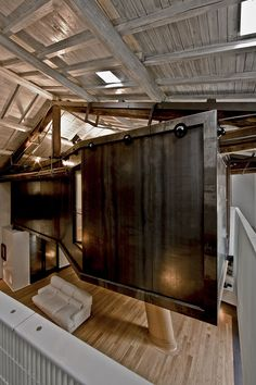Spectacular Loft In Reconverted Barn In Rome Nice Look