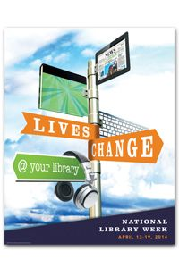 """""""DIY @ your library"""" for Teen Tech Week, materials for National Library Week among gems in new ALA Graphics catalog Library Week, World Library, Local Library, Library Ideas, New Poster, Sale Poster, Special Library, Coding Class, Library Association"""