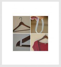 Slim bedacht! Je kleding glijdt niet meer van de hanger.