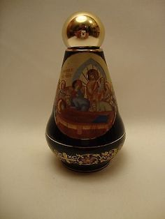Orthodox & Catholic Gold Icon Ceramic Dormition of Mary & POPE Holy Water Bottle for USD36.75 #Collectibles #Religion #Spirituality #Dormition Like the Orthodox & Catholic Gold Icon Ceramic Dormition of Mary & POPE Holy Water Bottle? Get it at USD36.75!