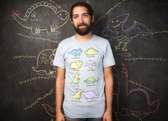 """""""Know Your Dinosaurs"""" - Threadless.com - Best t-shirts in the world"""