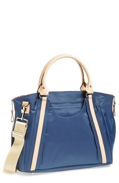 Chic Diaper Bag love the blue!