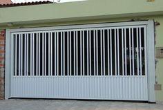 Portões modernos de alumínio