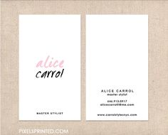 simple business cards, minimal business cards, elegant simple business cards