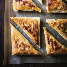 This best-ever Tunisian tuna brik recipe gets flavor from harissa, capers and scallions. Get the recipe from Food & Wine. Surimi Recipes, Tuna Recipes, Gourmet Recipes, Dinner Recipes, Healthy Recipes, Brik Recipe, Savory Pastry, World Recipes, Food Print
