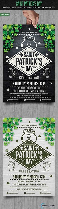 GraphicRiver - St. Patrick's Day Flyer 10406702