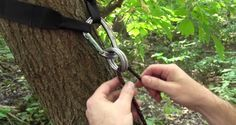 This is the easiest way to hang your hammock that you'll find anywhere. You can literally hang your hammock in a minute or two, leaving your more time to