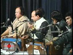 Nusrat Fateh Ali Khan LIve At  Drchester Hotel London 1993 Full Concert ...