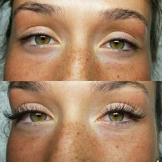 Before and After | Lashes by Valentina