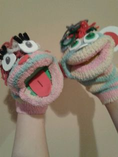 monkey sock puppet instructions