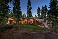 Sustainable Forest Home Hides Away in the California Mountains - Digital Ramen