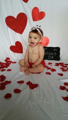 Valentine S Day Baby Photo Ideas Adorables Pinterest Baby