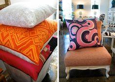 silk scarves to pillows