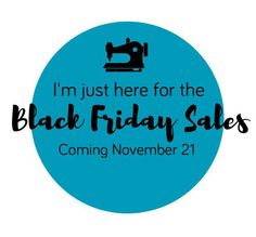 NOW WITH MORE SALES! Black Friday PDF Sewing Pattern Sales