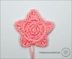 Patrón Gratis: Estrella a Crochet #1 | PATRONES VALHALLA // Patrones gratis de ganchillo