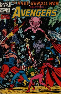 Avengers-Kree-Skrull War 2 of 2