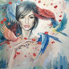Наира by Lesya Nedzelskaya, via Behance