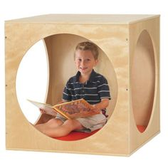 "Playhouse Cube Set-at costco.com for $179, yah I could make that with cabinet grade plywood easy peasy. My plan is to stain it dark at will go in the corner and look like the base of a tree that will extend up the wall and the branches out onto the ceiling-that'll make a pretty cool ""cozy corner"""