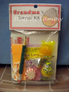 Life Survival Kit - Grandma -  listed on Bonanza.com. $6.95 each.
