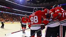 Chicago Blackhawks Clinch Central Division Title - http://www.nbcchicago.com/news/local/chicago-blackhawks-clinch-central-division-title-with-wild-loss-417871013.html
