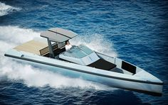 WALLY ONE BOAT  It's not exactly cheap, but the Wally One Boat is likely the most affordable in the company's line of legendary sea cruisers. A replacement for the company's prior Wally Tender, the One is designed to be the ultimate day boat, offering a small kitchen area, a sleeping area for two — three if you're adventurous — a 43-foot length, Yanmar 370hp engines, and a top speed of 40-50 Knots.