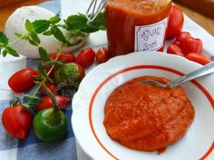 Ajvar , Zavárame, recept | Naničmama.sk Stuffed Peppers, Vegetables, Food, Stuffed Pepper, Vegetable Recipes, Eten, Stuffed Sweet Peppers, Veggie Food, Meals
