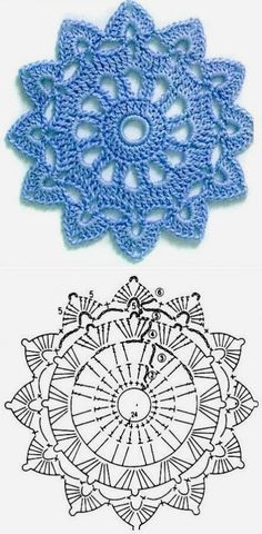 Good No Cost how to crochet diagram Concepts New Absolutely Free Crochet Doilies diagram Strategies Although lots of the doilies that you see in Motif Mandala Crochet, Free Crochet Doily Patterns, Crochet Earrings Pattern, Crochet Coaster Pattern, Crochet Doily Diagram, Crochet Circles, Crochet Motifs, Crochet Chart, Crochet Squares