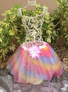 Princess Fairy Tutu Multi Colored TuTu Ballet by partiesandfun, $10.00. Check out my cute shop for pretty tutu and wings for your next event. www.partiesandfun.etsy.com #fairy party