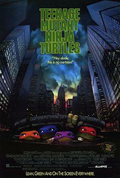 Teenage Mutant Ninja Turtles: The Movie POSTER 27x40 Judith Hoag Elias Koteas