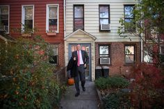 Mayor Bill de Blasio wants to force landlords to make their buildings more energy efficient, but he won't say what he has done with his own two homes.