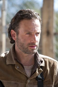 Photo of Andrew Lincoln as Rick Grimes - The Walking Dead - season 3, aired in 2013 #TheWalkingDead