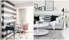 Klasszikus, de nem unalmas – fekete-fehér a lakásban