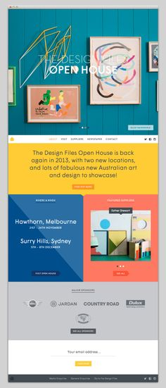 The Web Aesthetic — The Design Files Open House