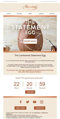 Easter sneak peek email from thorntons emailmarketing email easter email with countdown timer from thorntons emailmarketing email marketing easter negle Gallery