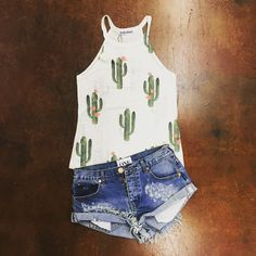 "Tin Rose Boutique on Instagram: ""BACK IN STOCKWe will be getting more in!! Cactus Tank S/M/L $55. To be invoiced by pay pal please leave size, email and state."""