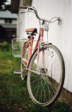 lovely pink bike
