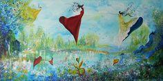 New Painting by Artist Oscar Vela . www.oscarvela.dk