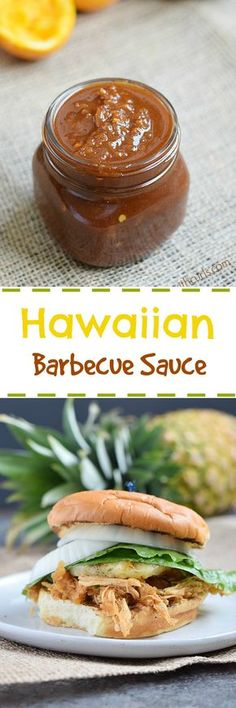 This tangy and fruity Hawaiian Barbecue Sauce is a a combination of teriyaki and barbecue sauces that gives your meal some Aloha spirit…