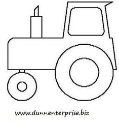 1000 images about tractor party on pinterest tractors for Tractor template to print